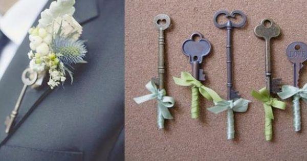Add the antique keys....