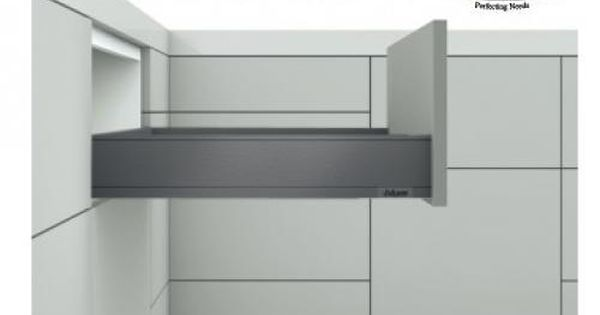Legrabox M Height Drawer Kit Orion Grey 70kg Weight Capacity With Blumotion The All New Legrabox From Blum Built Entirely Drawer Space Drawer Fronts Design