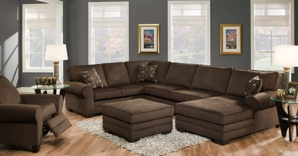 This Photo Was Uploaded By Shopfactorydirect Brown Sectional