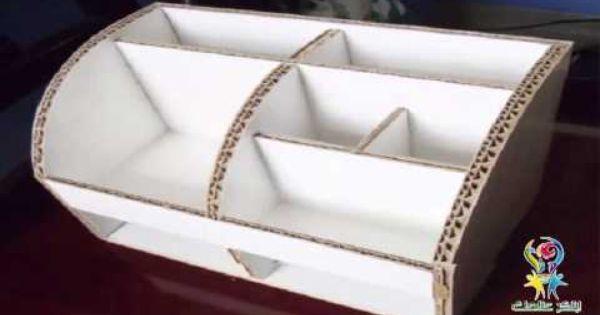 كيف تصنع صندوق دولاب من الكرتون بسهولة جرب بنفسك مجانا اعادة التدوير الكرتون Decorative Boxes Design Box