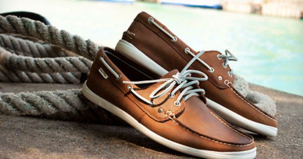 Nautica Hyannis Leather Boat Shoes