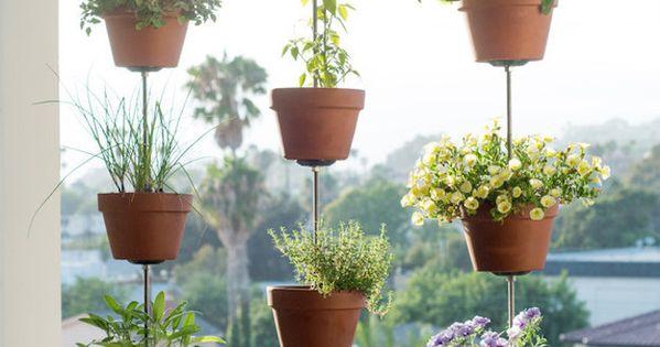 Estas ideas para hacer macetas colgantes te ayudar n a for Jardin 7 colores bernal