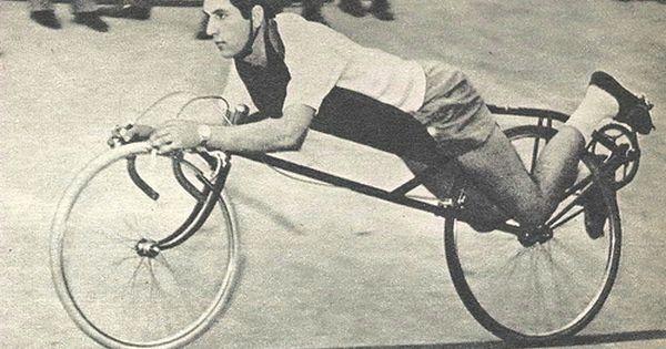 Early Recumbent Bicycle Recumbent Bicycle Bicycle Retro Bicycle