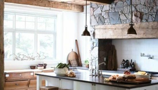 balken bodenbelag k cheninsel hocker stein holz kitchen pinterest k cheninsel hocker. Black Bedroom Furniture Sets. Home Design Ideas