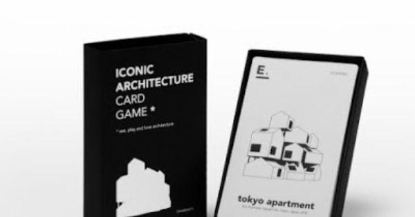 Iconic Architecture Card Game Jeu De 7 Familles Happy Family