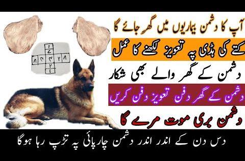 Dushman Ki Mout Aur Dushman K Ghar Waly Beemar Karny Ka Taveez Youtube In 2020 Peer Thankful