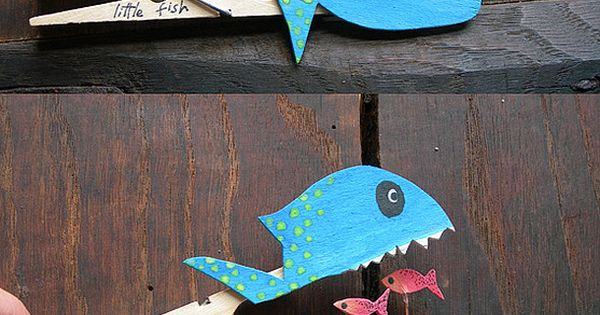 This would be a great Jonah and the Big Fish craft