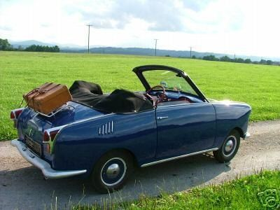 Vintage Micro Cars The Goggomobil Coupe Is At The Top Of My List