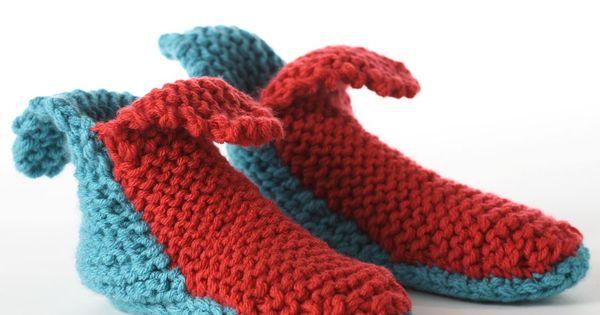 Knitting Slippers For Charity : Yarnspirations bernat slippers