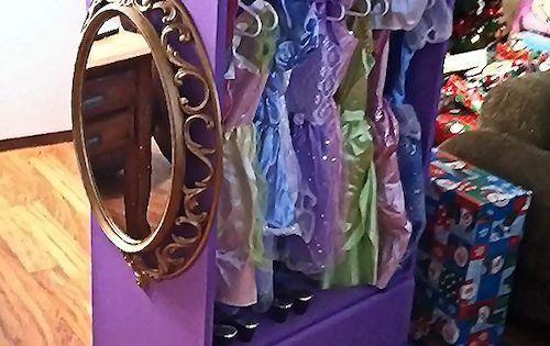 Cute idea for little girls - Dress up