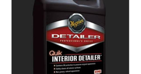 Meguiars D14901 Quik Interior Detailer Gallon Sauce Bottle