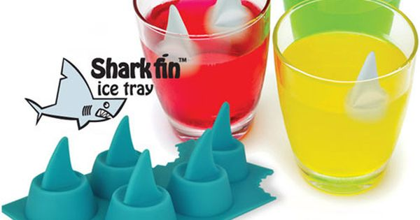 Shark Fin Ice Tray ... perfect for a Parrothead party & shark