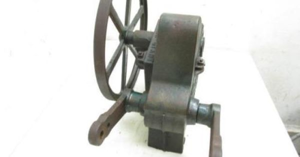 Antique Vintage The Butler Co Green Giant Cast Iron Windmill Water Pump Jack Windmill Water Pump Windmill Water Water Pumps
