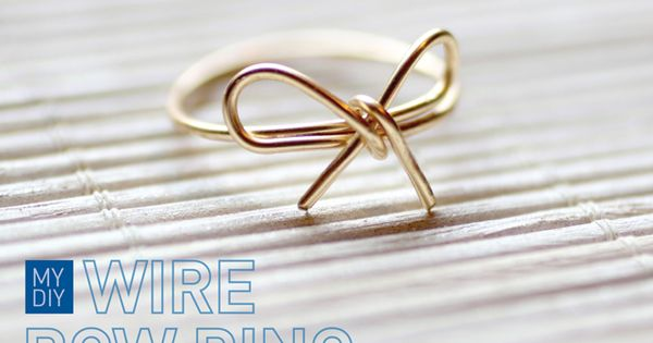 Art DIY Wire Ring diy-crafts