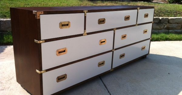 Vintage lane campaign dresser in white furniture i wish for Furniture 66 long lane liverpool