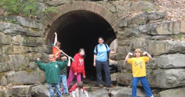 Lake Accotink Springfield Va Old Civil War Era Tunnel