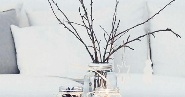weihnachtsdeko ideen skandinavischer stil tischdeko weihnachten weihnachten pinterest. Black Bedroom Furniture Sets. Home Design Ideas