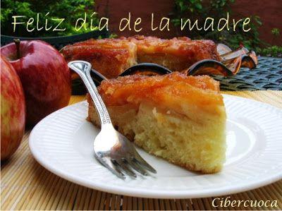 Cibercuoca Torta Invertida De Manzanas Torta Invertida De Manzana Torta Invertida Tarta De Manzana Recetas