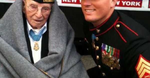 #military veterans The oldest living and youngest Medal of Honor recipients in