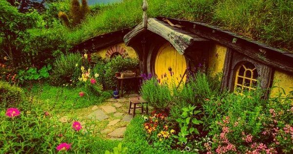 Hobbit Cob Houses And Hobbit Houses On Pinterest