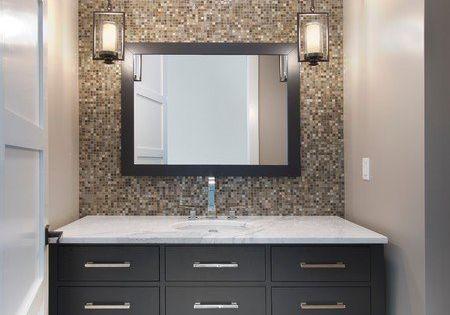 Bathroom Mirror With Pendant Lighting Google Search