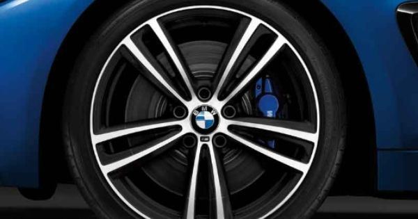 Bmw 4 Series M Light Alloy Wheels Double Spoke 442 M