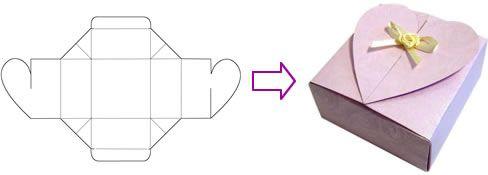 Free Gift Box Templates To Download Print Make Modelo De