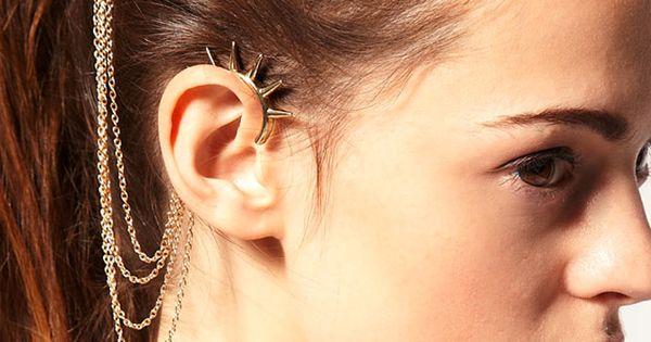 Cuff/Wrap earring, Cuff/Wrap earring direct from Yiwu Tora Jewelry Factory in China