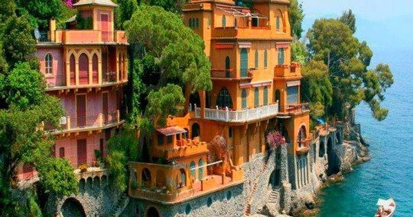 Villas near Portofino, Italy. Dream Vaca!!!!!