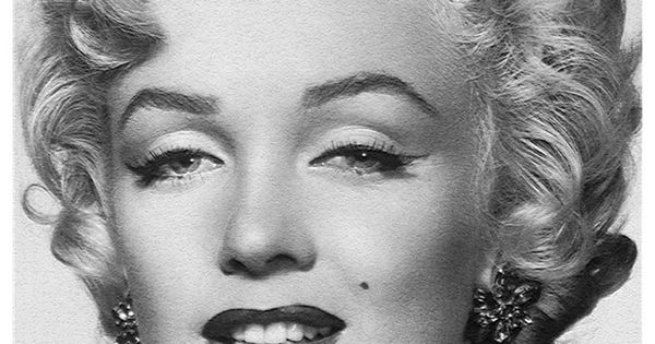 Marilyn Monroe Classic Bedroom Eyes Pose Wall Mural 6ft by