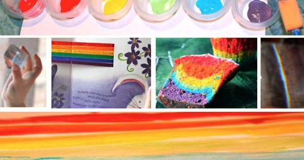 Rainbow Cake, Painting & Prism