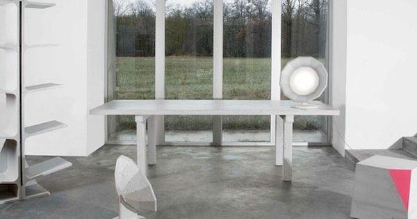 Die kubus met dat hoekje af de betonnen meubelcollectie 39 concrete collection 39 is het werk van de - Beton door lcda ...