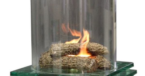 Contemporary Glass Fire Pit Indoor Or Outdoor Fireplace Lindo De Viver