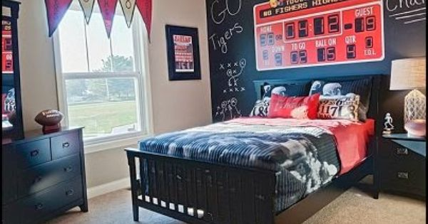 Boys Room Ideas Sports Theme football bedroom decorating ideas-all sports theme bedroom ideas