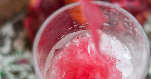 French 75, Blood orange and French 75 cocktail on Pinterest