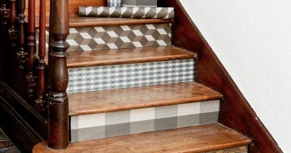 les papiers peints motifs coach deco lille escaliers. Black Bedroom Furniture Sets. Home Design Ideas