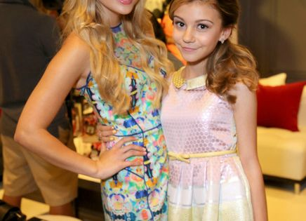 Olivia Holt and Genevieve Hannelius ~ Minnie Gifting Lounge At The 2013