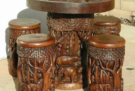 Muebles de madera tallada arte en madera tallada - Muebles de tailandia ...