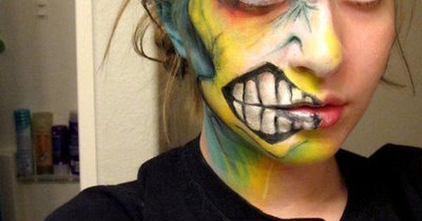 Awesome Halloween makeup  - photo