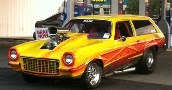 Vega Pro Street Wagon Vintage Muscle Cars Chevrolet Vega Hot Cars