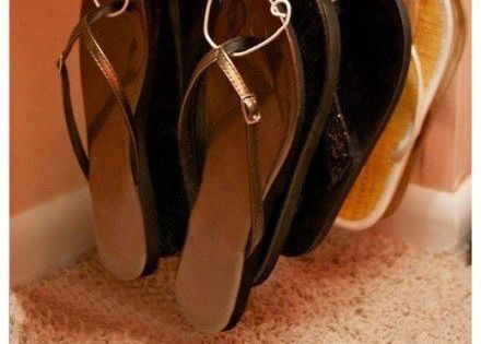 Perchas para organizar tu calzado corbatas y pajaritas - Percha para zapatos ...