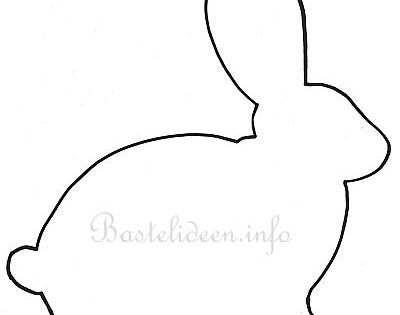 osterbasteln osterhase bastelvorlage basteln mit kindern pinterest osterhase. Black Bedroom Furniture Sets. Home Design Ideas