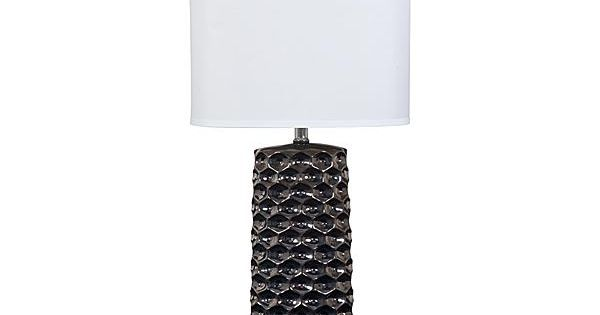 ironic, rental lamp The Quin Table Lamp (Set of 2) from Ashley Furniture HomeStore (AFHS.com ...