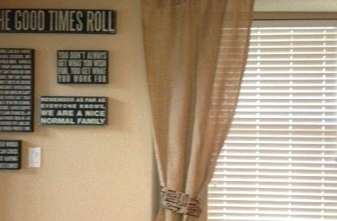 """Love the """"curtain rod""""!!"""