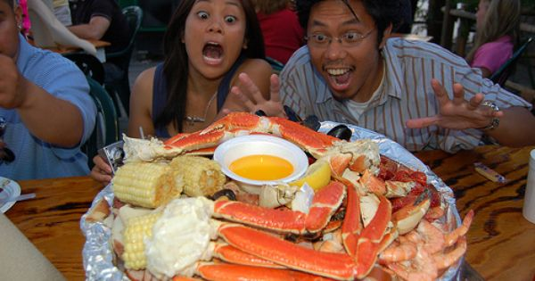 Crab legs, Snow crab legs and Crabs on Pinterest