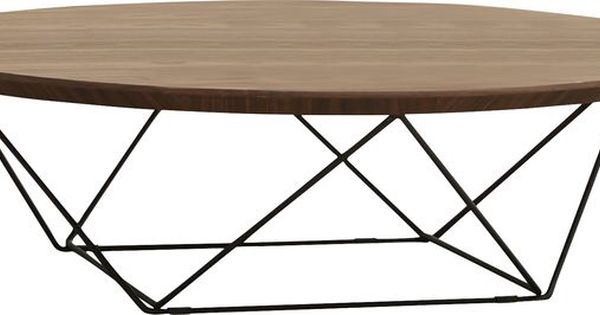 Sadhana Spoke Coffee Table 11 H 39 D Circular Coffee Table