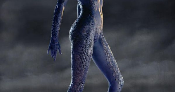 X Men Mystique Human Rebecca Romijn as Myst...