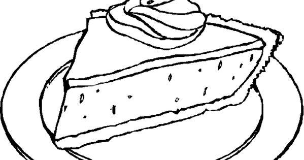 Ausmalbilder Malvorlagen Kuchen Kostenlos Zum