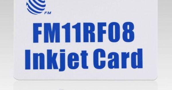 13 56mhz Mifare 1k S50 Blank Inkjet Pvc Card For Epson And Canon Printer Printable Cards Inkjet Cards