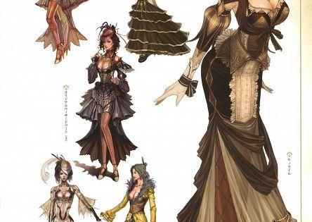 Des robes du (vieux) MMORPG Granado .Steampunk 服饰 西洋风